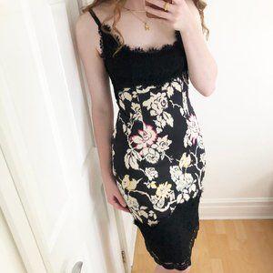 100% Silk Diane Von Furstenberg Olivette Dress - 6